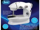 ELECTRIC TWIN SPEED MINI STITCH HANDHELD SEWING MACHINE - MAINS/BATTERY POWERED