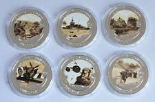 June 6, 1944-70th Anniversay D-Day 2014 TDC Ag plt 6 Coin Set