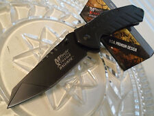 Mtech Xtreme Ballistic Assisted Black Titanium HD Pocket Knife 440C MX-A837BK