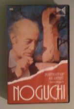 portrait of an artist   ISAMU NOGUCHI   VHS VIDEOTAPE