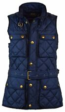 NEW Polo Ralph Lauren Womens L LARGE LG Down Filled Quilted Vest BLUE ATL NAVY