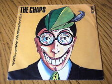 """THE CHAPS - THE LEGEND OF ROBIN HOOD   7"""" VINYL PROMO PS"""