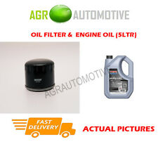 DIESEL OIL FILTER + SS 10W40 ENGINE OIL FOR RENAULT 19 1.9 64 BHP 1992-96
