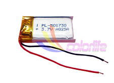 3.7V 220mAh 501730 rechangeable lithum Liion battery for GPS smartwatch mp3 mp4