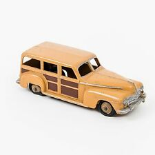 Vtg 1940's Dinky Toys Diecast Toy Plymouth Woody Station Wagon No. 344 England