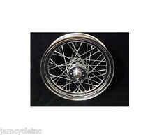 "16"" CHROME 40 SPOKE REAR WHEEL FOR HARLEY IRONHEAD SPORTSTER 57-78 K MODEL 55-56"