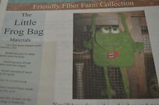 The Little Frog Bag Felted Crochet All Day Pattern