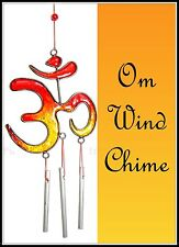 ~OM WIND CHIME~Hanging Decoration~Mobile~Buddha~Feng Shui~30cm in length
