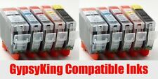 Multipack of 10 CANON COMPATIBLE INK CARTRIDGES WITH CHIP FOR CANON PIXMA MP500