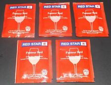 5 Packs Red Star Pasteur Red Wine Yeast, Free Shipping!!!