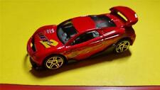 """RARE """"MS-T SUZUKA"""" STREET RACER - RED with YELLOW * 2001 HOT WHEELS * OPEN"""