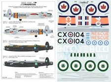 Xtradecal 1/72 Avro Lancaster B.I/III Post War Foreign Avro Lancasters Part 2 #