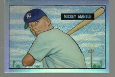 1996 Topps - MICKEY MANTLE - Finest Refractor #1 of 19 - YANKEES  1951 Bowman