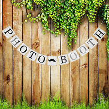 Photo Props Bunting Banners Photo Booth Wedding Birthday Party Decorations