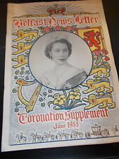 Belfast News-Letter - Coronation Supplement -Dated 1st June 1953 - 32 pages