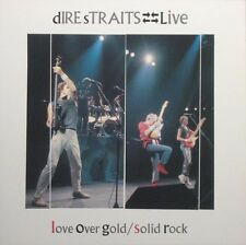 "DIRE STRAITS  Live – Solid Rock/Love Over Gold 1984 UK 10"" EP"