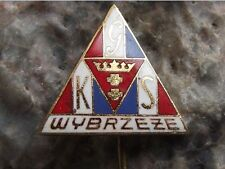 GKS Wybrzeze S.A. Motorbike Motorcycle Speedway Team Competition Club Pin Badge