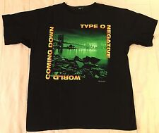 Type O Negative 1999 T-Shirt XL World Coming Down Vintage peter steele carnivore