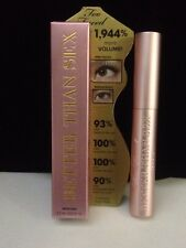 NEW TOO FACED Better Than Sex Voluptuous Volume Mascara FULL SIZE .27oz
