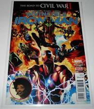 INVINCIBLE IRON MAN # 11  Marvel Comic  Nov 2016 NM   2nd PRINTING VARIANT COVER