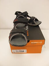MERRELL Kids PANTHER Black/Red Athletic Sandals Size US 6M (MY53338)