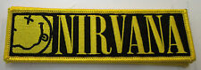 NIRVANA PATCH COLLECTABLE RARE 2014 LIMITED PRODUCTION COBAIN SMILEY FACE