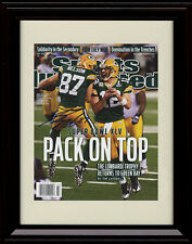 Framed Jordy Nelson Sports Illustrated Autograph Print PackersSuper Bowl Champs