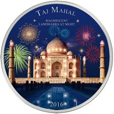 2000 Francs 2016 Elfenbeinküste - Magnificent Landmarks at Night - Taj Mahal