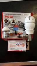 GIACOMINI KIT RIQUALIFICAZIONE ENERGETICA VALVOLE RADIATORE + DADO termostatica
