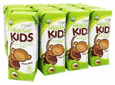 Orgain - Healthy Kids Organic Ready To Drink Meal Replacement Chocolate - 12