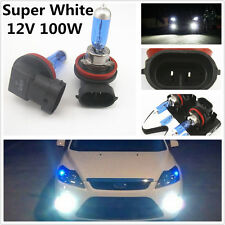 2 Pcs Super White H11 100W Xenon HID Halogen Headlight Fog Light Daylight Bulbs