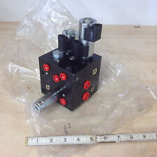 Tennant 394437 Floor Scrubber Hydraulic Solenoid Valve Control 12VDC, 3GPM, NEW