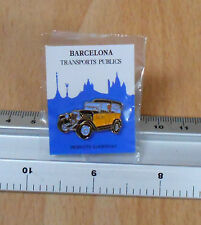 Barcelona Transport Taxi Pin/Badge