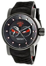 New Men's Invicta 12787 S1 Rally Ninja Black Dial Silicone Day & Date Watch