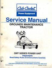 CUB CADET GMT SERIES SERVICE MANUAL LAWN MAINTENANCE TRACTOR 772-4042
