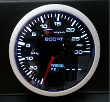60mm Depo Racing 2 in 1 Turbo Boost & Oil Pressure Gauge WA60126B