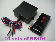 MSD 12v long range RF wireless on off remote control relay switch 10 set bulk