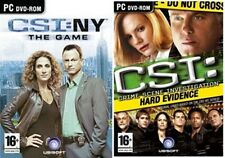 csi new york & hard evidence    new&sealed