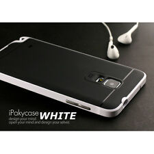 Bumper Hybrid Rugged Slim Protect Case For Samsung Galaxy NOTE 4 N9100-White