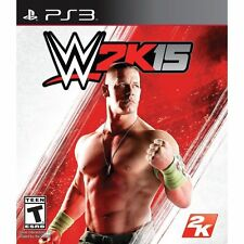 WWE 2K15 15 2015 USED SEALED (Sony Playstation 3) PS PS3