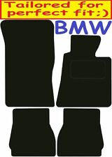 Tailored Deluxe Quality Car Mats Bmw e30 Convertible 3 Series 1984-1991 ** Black