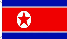 5' x 3' North Korea Flag Korean Country Flags Banner