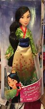 Disney Princess Mulan Barbie Doll Long Dark Hair Beautiful New Style Kimono NEW