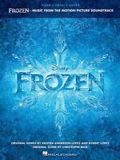 FROZEN MUSIC FROM THE MOTION PICTURE SOUNDTRACK SONG BOOK PIANO VOCAL GUITAR PVG