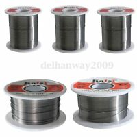 50g-500g 60/40 Tin lead Solder Wire Rosin Core Soldering 2% Flux Reel Tube
