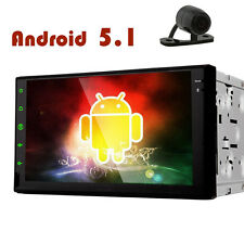 "7"" Stereo Android 5.1 Car Radio No-DVD APP WiFi Video Music Autio Auto GPS CAM"