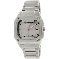 FREESTYLE Men's SHARK Classic Metal Wrist Watch - 101817 - SIL - NWT - Reg $300