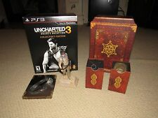 Uncharted 3: Drake's Deception -- Collector's Edition (Sony PlayStation 3, 2011)