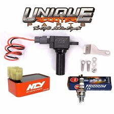 GY6 50cc 150cc Stage 4 Ignition System NCY CDI, Direct Coil, NGK Iridium Plug