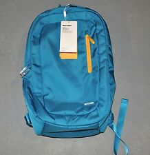 "NWT INCASE™ Macbook Pro 17"" NYLON BACKPACK Ultramarine/Goldenrod #CL55381 plush"